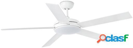 Wellindal Ventilador Con Luz Nova 132 Cms Blanco 5 Palas