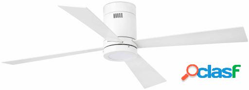 Wellindal Ventilador Con Luz Timor 132 Cm Blanco 4 Palas Led