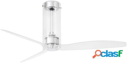 Wellindal Ventilador Sin Luz Tube Fan 128 Cms 3 Palas Negro