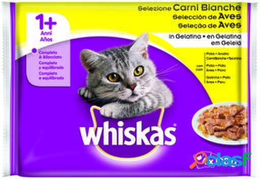 Whiskas 4Pack 1+ Selección de Aves 100 gr