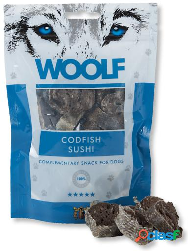 Woolf Snack para Perros de Sushi de Bacalao 100 gr
