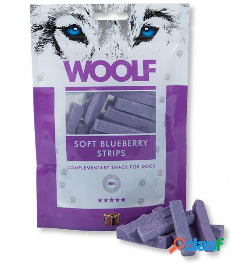 Woolf Snack para Perros de Tiras de Arándanos 100 gr