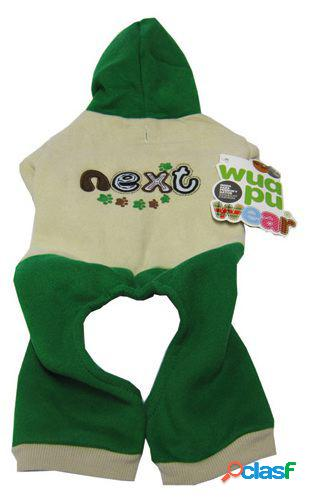 "Wuapu Abrigo ""Next"" para Perros Talla XL Verde"
