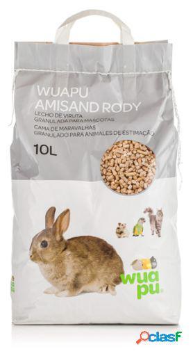 Wuapu Lecho de Viruta Granulada Amisand Rody 10 L
