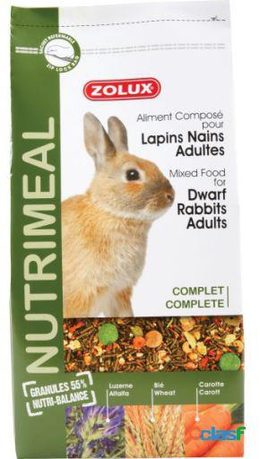Zolux Nutrimeal alimento conejo Adult 800 GR