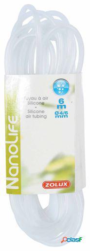 Zolux Tubo Aire Silicona en diferentes tamaños 0.25 cm