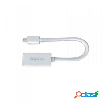 approx Appc12V2 Adaptador Mini Display Port a Hdmi, original