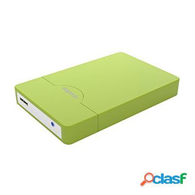 "approx appHdd10Gp Caja Ext. 2. 5"" Usb 3. 0 Sata Verde,"