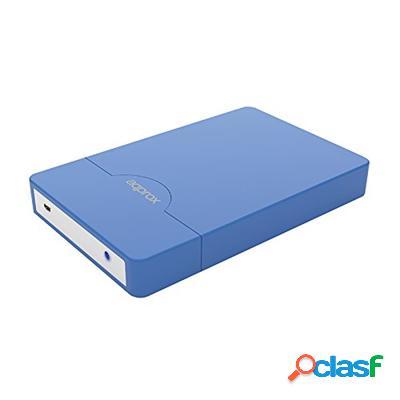 "approx appHdd10Lb Caja Ext. 2. 5"" Usb 3. 0 Sata Azul,"
