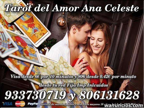 desde red fija 0,42 /m. Tarot del Amor Ana Celeste