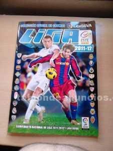 álbum de cromos liga fútbol bbva