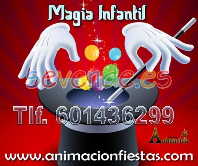 mago para niños Valencia