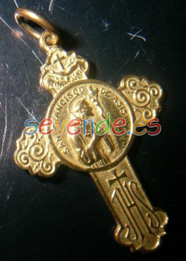 medalla bendicion de san francisco