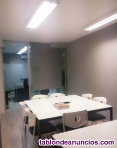 ----se alquila aula de formacion en barrio de salamanca -- m