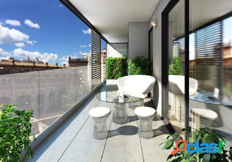 Ático de 3 habitaciones y 2 baños con terrazas acceso