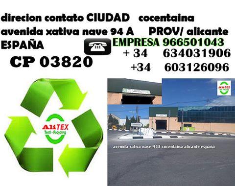 venta y exportacion ropa zapatos segunda mano - Alicante