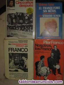 Cinco libros sobre franco.