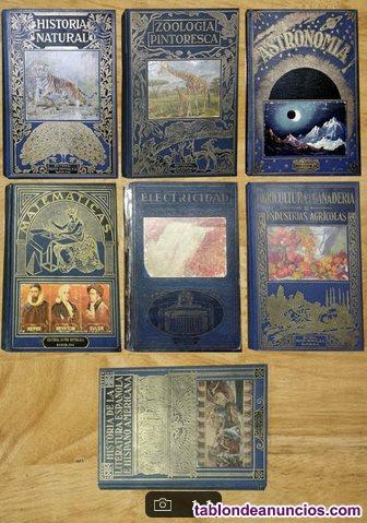 Colección 7 volúmenes diversas materias para