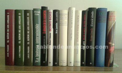 Colección libros de película