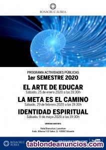 Conferencia el arte de educar