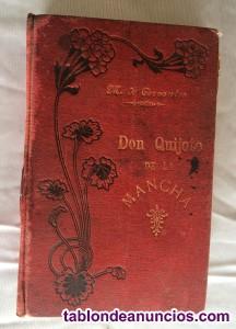 Don quijote de la mancha. Más de 100 años. Editorial