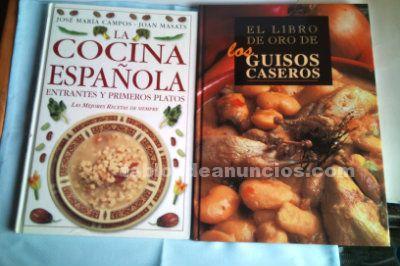Dos grandes libros de la cocina española y guisos caseros