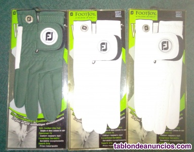 Guantes footjoy weathersof men´s talla small right hand