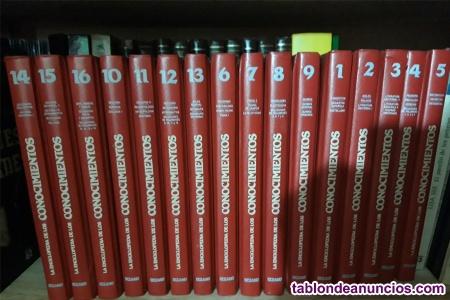 Libros enciclopedia de los conocimientos
