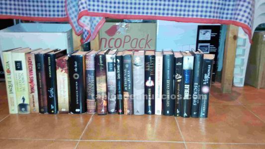 Lote de 20 libros