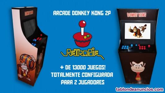 Maquina arcade completamente configurada 2 players