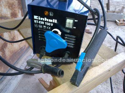 Soldador eléctrico einhell bt-ew 150