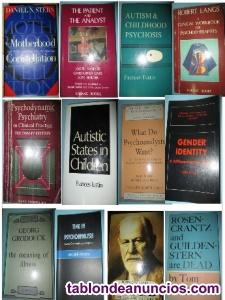 Vendo lote de libros usados psicología, psicoanalisis,