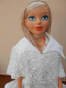 Vestido traje novia - comunión talla 38