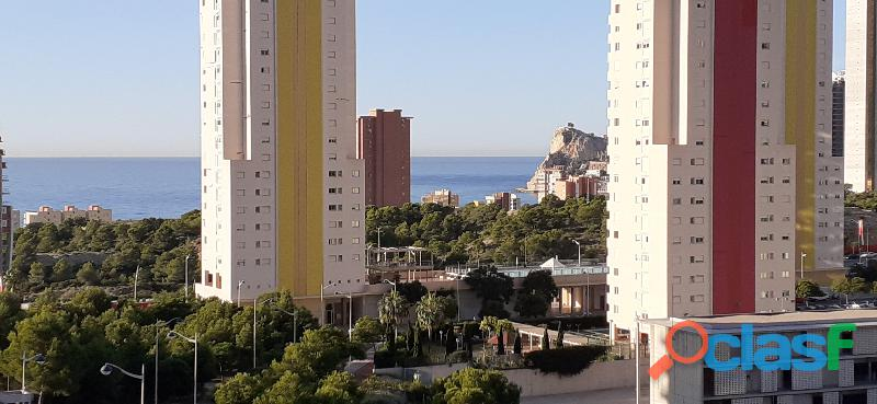 Apartmaneto en zona Poniente Benidorm con vistas al mar