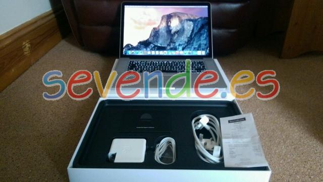 Apple MacBook Pro 15 Retina Display Febrero 2