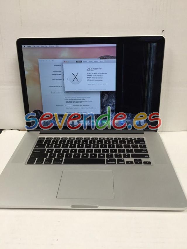 Apple MacBook Pro 15 Retina Display Med