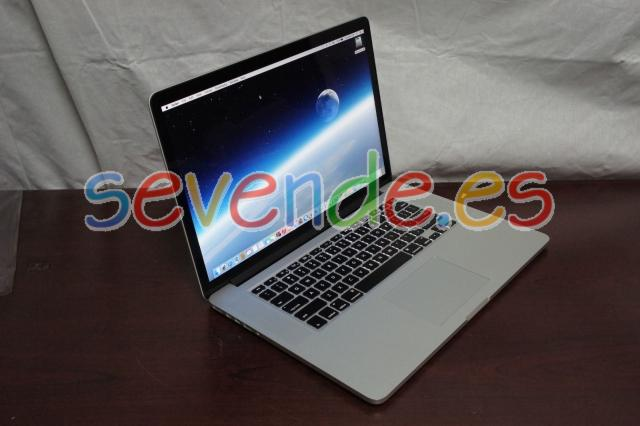 MacBook Pro 15 Retina 2 5GHz i7 16gb 512gb OS