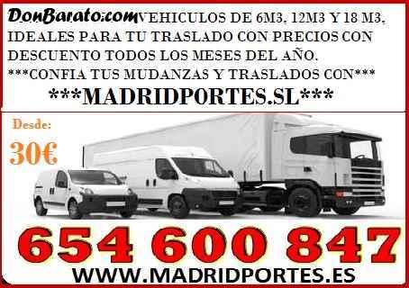Servicio de traslados economicos en madrid