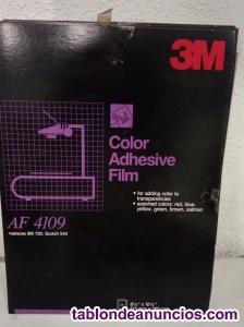 Film adhesivo de colores para transparencias