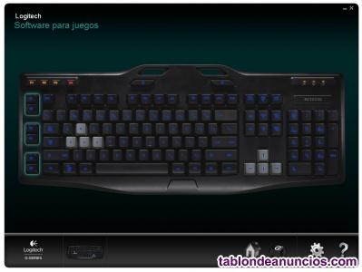 Logitech g105 - teclado para videojuegos de ordenador
