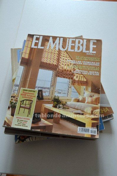 Lote de revistas el mueble
