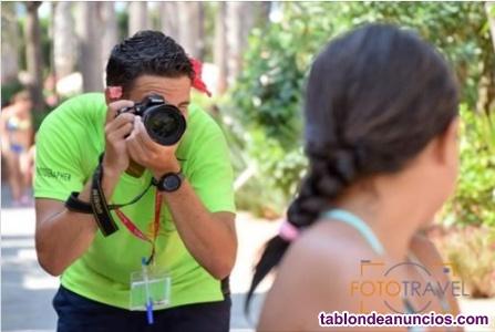 Realización y venta de fotos