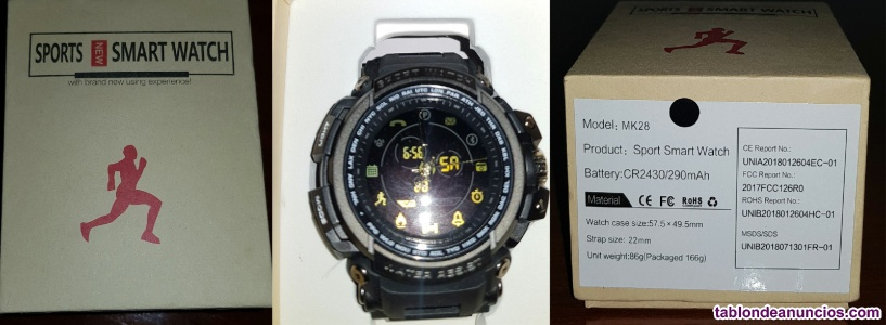 Sports smart watch modelo: mk28