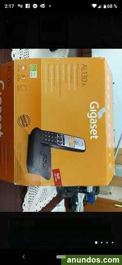Teléfono inhalámbrico gigaset con poco uso. economico -