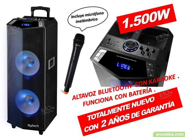 Torre de sonido altavoz sytech syxtr72 - Madrid Ciudad