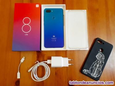 Xiaomi mi 8 lite (versión global) azul aurora nuevo