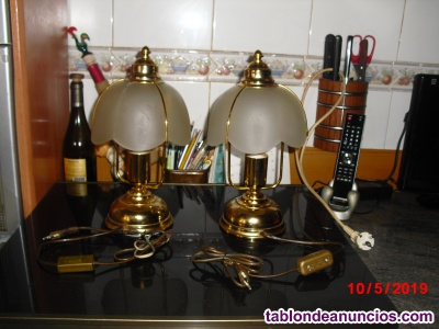 2 lamparas mesilla