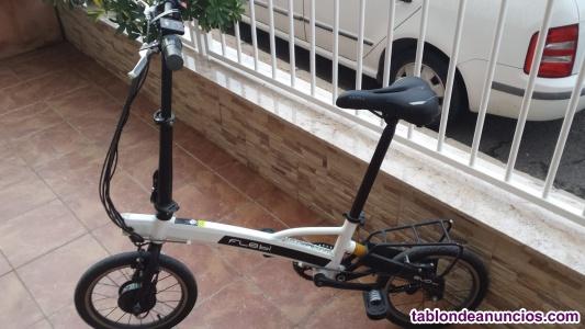 Bici eléctrica plegable flebi evo 2.0
