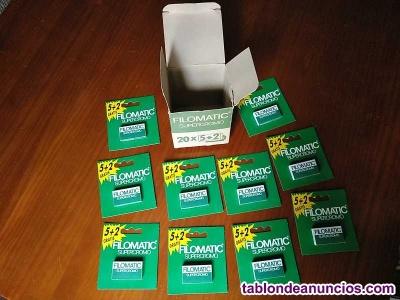 Caja filomatic supercromo 10 blister total 70 hojas de