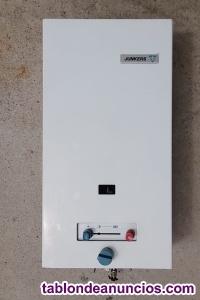 Calentador de agua junkers gas natural